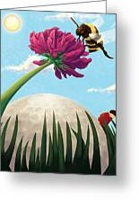 All Players Great And Small - Bee Greeting Card