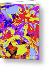 Bee Flowers 13a Greeting Card