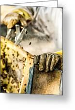 Bee Keeper Greeting Card