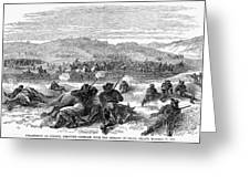 Beecher Island, 1868 Greeting Card