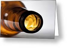 Beer Bottle Neck 1 B Greeting Card