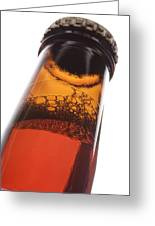 Beer Bottle Neck 2 F Greeting Card