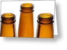 Beer Bottles 1 B Greeting Card