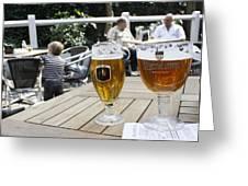 Beer-mania Greeting Card