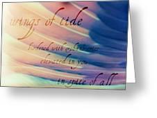 Befluegelt Greeting Card