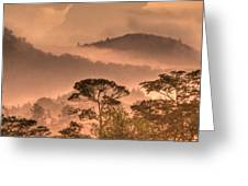 Before Sunset Greeting Card