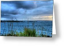 Behind The Sea Greeting Card