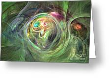 Being Bold - Abstract Art Greeting Card
