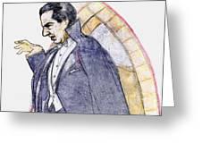 Bela Lugosi Greeting Card