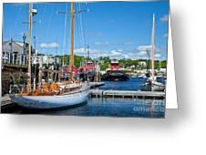 Belfast Harbor Greeting Card