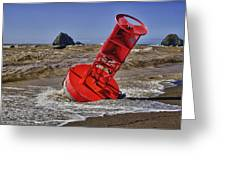 Bell Buoy Greeting Card by Garry Gay