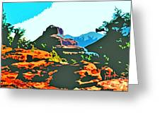 Bell Rock Sedona Arizona Greeting Card