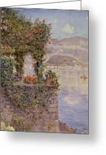 Bellagio From Tremezzo Greeting Card