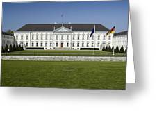 Bellevue Palace Berlin Greeting Card