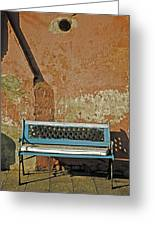 Bench Greeting Card by Joana Kruse