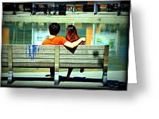 Benchlovers Greeting Card