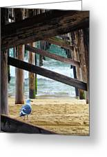 Beneath The Pier II Greeting Card
