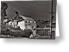 Bent Antenna Greeting Card