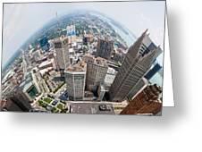 Bent City Greeting Card