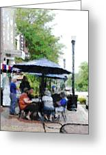 Bentonville On The Square Greeting Card