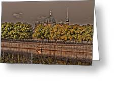 Berlin Cathedral ... Greeting Card by Juergen Weiss