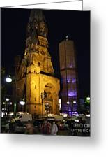 Berlin Nights Greeting Card