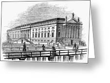 Berlin: Opera House, 1843 Greeting Card