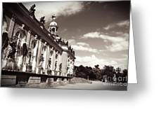 Berlin - Sanssouci Palace Greeting Card