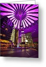 Berlin Sony Center Greeting Card
