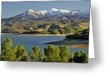 Bermejales Lake Greeting Card