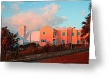 Bermuda Colors Greeting Card