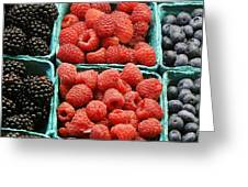 Berry Baskets Greeting Card