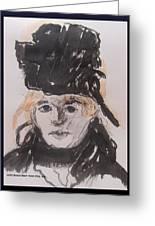 Berthe Morisot Greeting Card