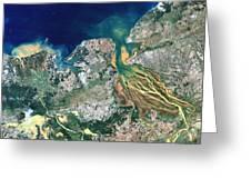 Betsiboka Estuary, Madagascar Greeting Card