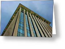 Beverly Hills Building Greeting Card