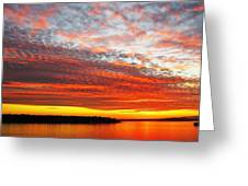 Beyond The Sunset And The Sea Greeting Card