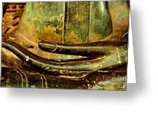 Bhumisparsa Mudra IIi In Colour Greeting Card
