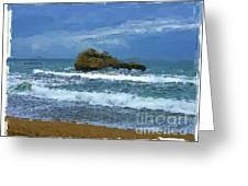Biarritz - France Greeting Card