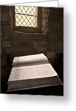 Bible In A Church, Rosedale, North Greeting Card