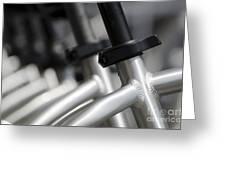 Bicycle Frame Greeting Card