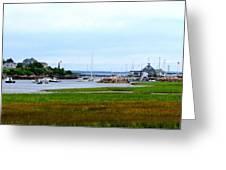 Biddleford Pool In Maine Greeting Card