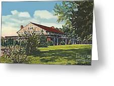 Bienvenue Country Club In Rocky Mount N C Greeting Card