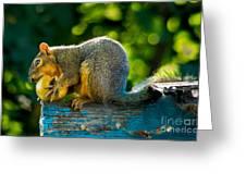 Big Apple  Greeting Card by Robert Bales