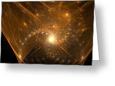 Big Bang Unfolding Greeting Card