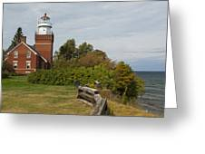 Big Bay Point Lighthouse 1 Greeting Card