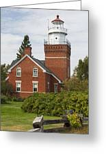 Big Bay Point Lighthouse 4 Greeting Card