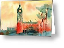 Big Ben    Elizabeth Tower Greeting Card
