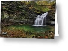 Big Falls - Heberly Run Greeting Card