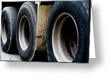 Big Fat Tires Greeting Card