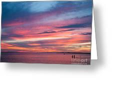 Big Florida Sunset Greeting Card